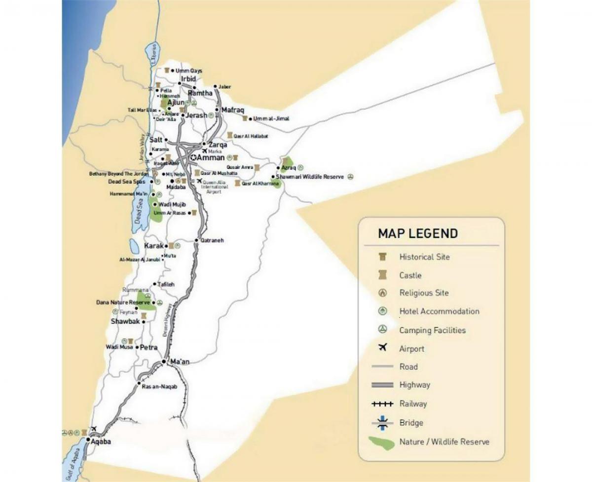 Map Jordans And Jordan Travel