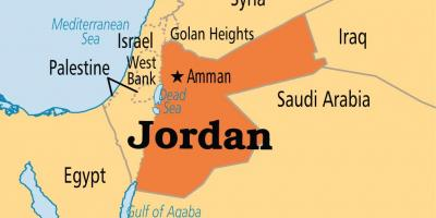 Jordan map location